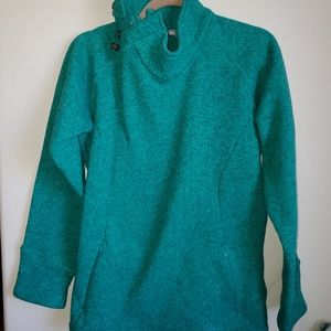 CCO cabelas polyester cowl neck pullover sweater